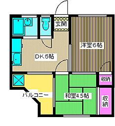 第二筑波ハイツ[1階]の外観