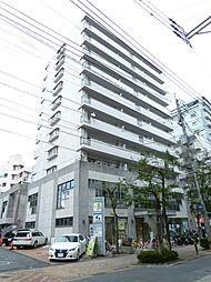 福岡県福岡市早良区西新1丁目の賃貸マンションの外観