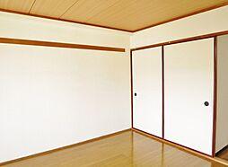 メゾンホワイトの一間収納付の洋室