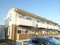 静岡県磐田市水堀の賃貸アパートの外観