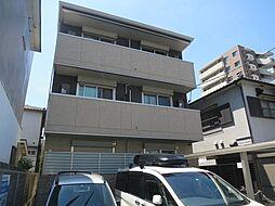 大阪府茨木市舟木町の賃貸アパートの外観