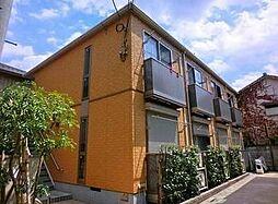 東京都中野区本町4丁目の賃貸アパートの外観