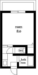 AMONTO南田[309号室]の間取り
