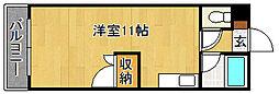 ロイヤルハイツ和白(初期費用約4万円プラン)[5階]の間取り