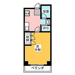 小坂マンション[1階]の間取り
