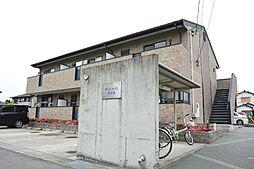 愛知県あま市本郷花ノ木の賃貸アパートの外観