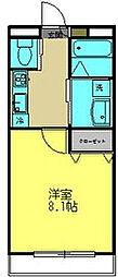 グランシャルム勝田台[2階]の間取り