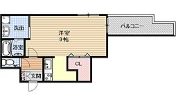 Casa de issa[703号室号室]の間取り