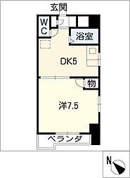 グランドール新栄[6階]の間取り