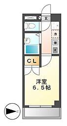 セントラルハイツ堀田[3階]の間取り