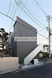 大阪府堺市堺区東雲西町4丁の賃貸アパートの外観