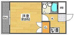 芥川マンション[2階]の間取り