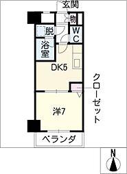 ライオンズマンション柳ヶ瀬203[2階]の間取り
