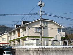広島県広島市安佐南区長束西2丁目の賃貸アパートの外観