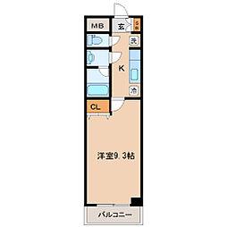 ハバードリーム5番館[3階]の間取り