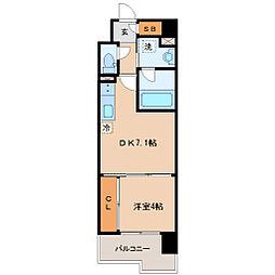 S-FORT青葉上杉[5階]の間取り