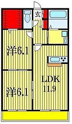 MIYAKO[3階]の間取り