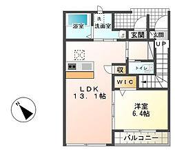 テンダー[1階]の間取り