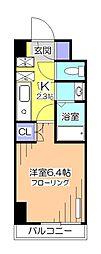東京都小平市学園東町1の賃貸マンションの間取り