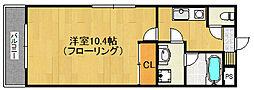 福岡県福岡市早良区曙1丁目の賃貸マンションの間取り