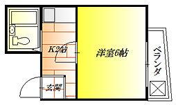 DH第二ビル[4階]の間取り