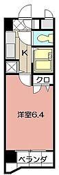 ライオンズマンション小倉駅南第2 403[403号室]の間取り