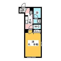 鶴見区生麦3丁目シャーメゾン(仮) 1階1Kの間取り