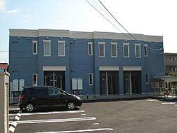 愛知県一宮市浅井町西海戸字西屋敷の賃貸アパートの外観