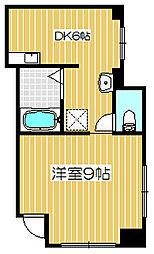 新潟県新潟市中央区東万代町の賃貸マンションの間取り