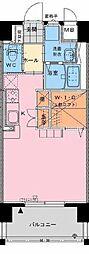 アクア広島[803号室]の間取り