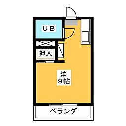 ハイツティファニー[1階]の間取り
