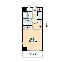 幸田マンション幸町(旧:アルティス幸町)[1004号室]の間取り