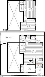 [テラスハウス] 東京都杉並区南荻窪2丁目 の賃貸【/】の間取り