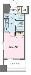 ドゥーエ新川[0908号室]の間取り