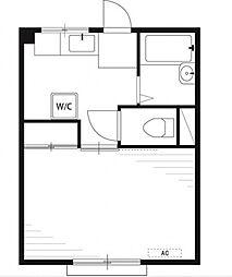 プレール[1階]の間取り