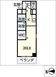 サン丸の内三丁目ビル[6階]の間取り