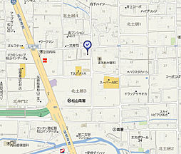 愛媛県松山市北土居3丁目の賃貸アパートの外観