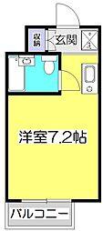 アメニティコウヤマ第8ガーデン[2階]の間取り