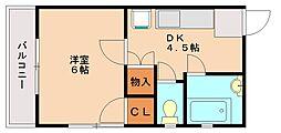 吉野ビル[3階]の間取り
