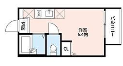 東京都豊島区高松2丁目の賃貸アパートの間取り