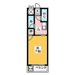 ロイヤルマンション甚目寺[2階]の間取り