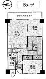 エテルノ21[6階]の間取り