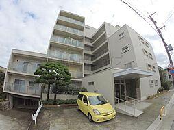 兵庫県宝塚市仁川月見ガ丘の賃貸マンションの外観