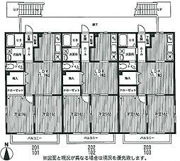 メゾン・セラフィム[1階]の間取り