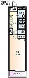 フジパレス高井田[2階]の間取り