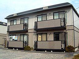 茨城県古河市常盤町の賃貸アパートの外観