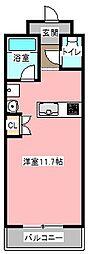 テノン元浜[4階]の間取り
