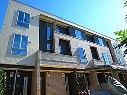 埼玉県川越市大字的場大字的場字宿の賃貸アパートの外観
