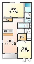 仮)佐野新築アパート[2階]の間取り