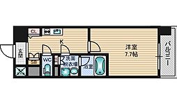グレンパーク新大阪2[10階]の間取り